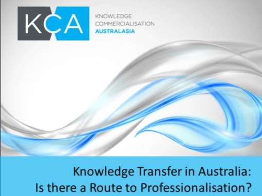 KCA – Grant applications, research, career frameworks and communications build commercialisation peak body