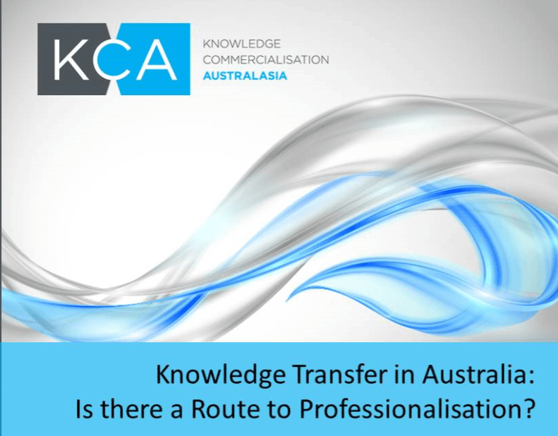 Knowledge Commercialisation Australasia (KCA)