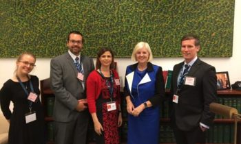 Science meets Parliament: How to influence the impact when worlds collide