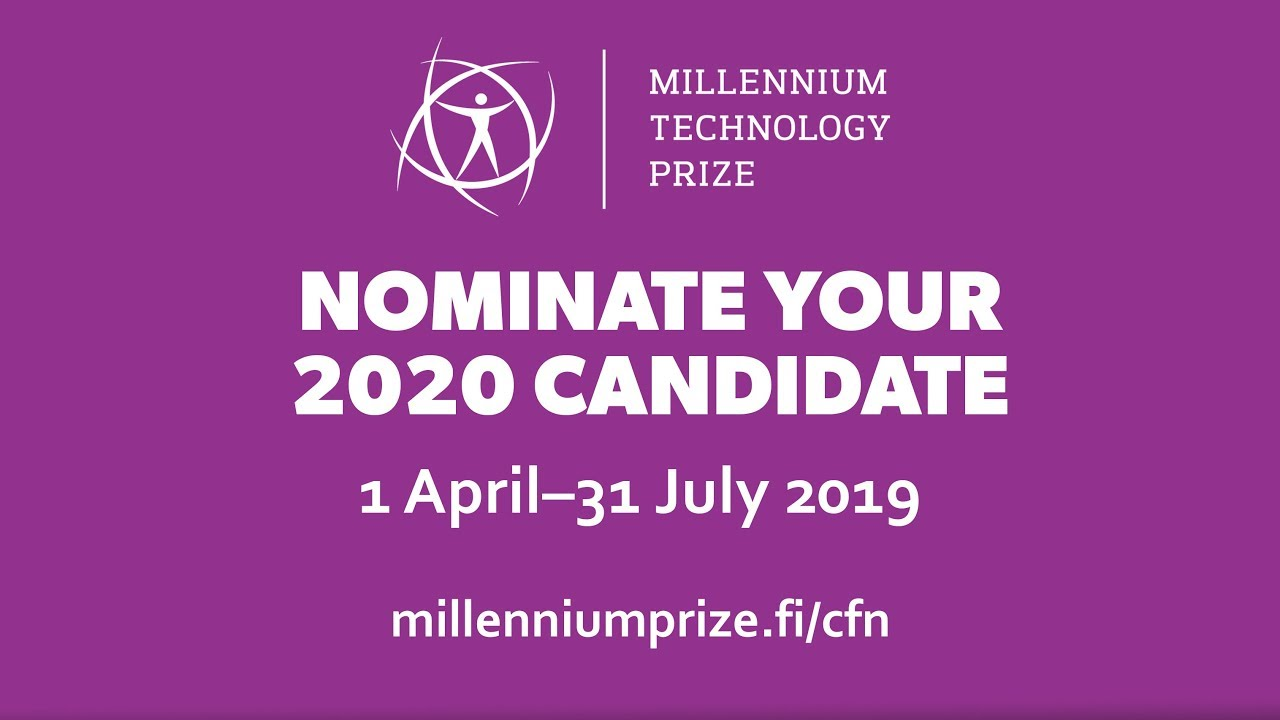 2020 Millennium Technology Prize